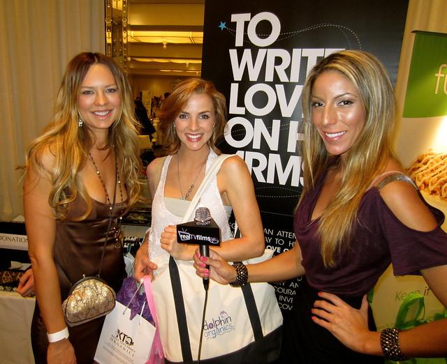 Natasha Alam, Marie Bollinger, Lauren Winston,TWLOHA, Golden Globes Style Lounge, Secret Room Events