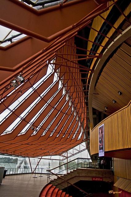 Interior design sydney opera house side lobby to the for Interior designs sydney