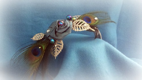 Peacock Headband by davisturner