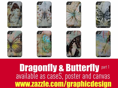 Dragonfly & Butterfly part 1