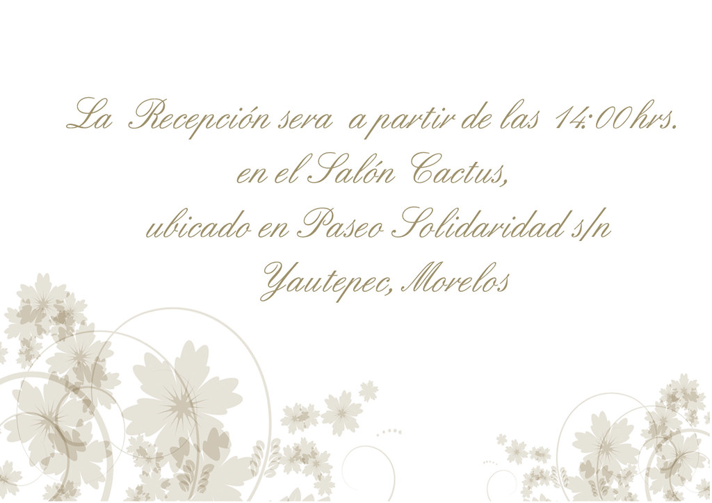 Tarjeta de recepci n de boda a photo on flickriver - Tarjeta de boda ...