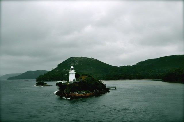 Entrance Island (Hell's Gates), Macquarie Harbour