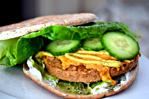 Vegan Boca Avocado Burger