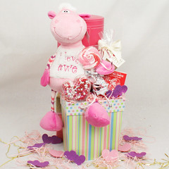 I Love Ewe Valentine's Day Gift Basket