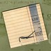 Vintage match Note pad-back