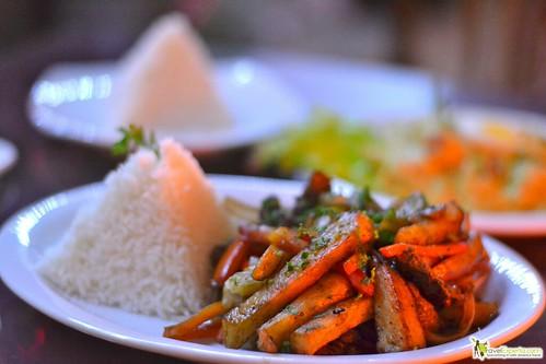 peruvian restaurant antigua guatemala - beef peruvian style