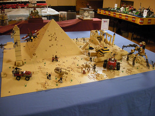 Rob Deakin and Refy L.S.'s Pharaoh's Quest diorama.