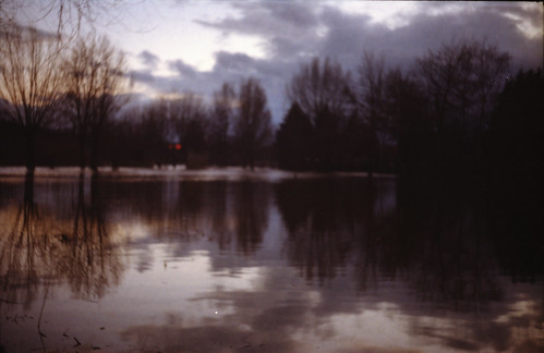 Hochwasser at the park outside the Zauberschloss 1