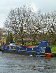 Barge at Elland  by Tim Green aka atoach