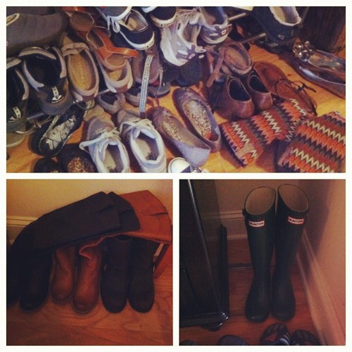 They are everywhere #janphotoaday  #yourshoes #day22