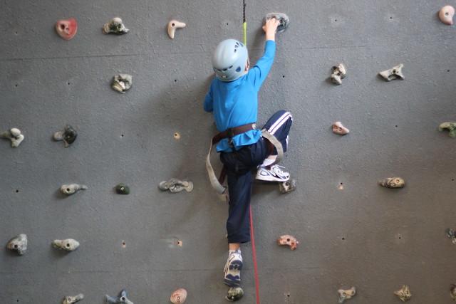 Benjamin Rock Climbing
