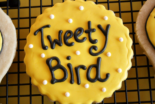 Tweety Bird Cookies.