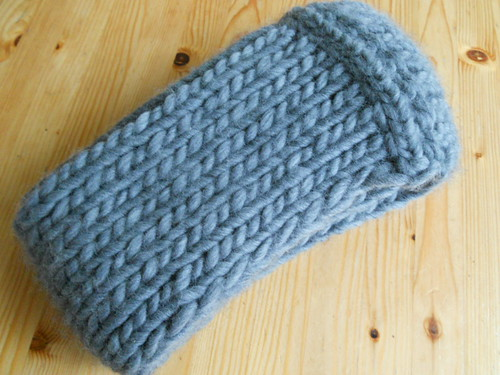 Gebreide col / Knitted cowl or snood by evanstra