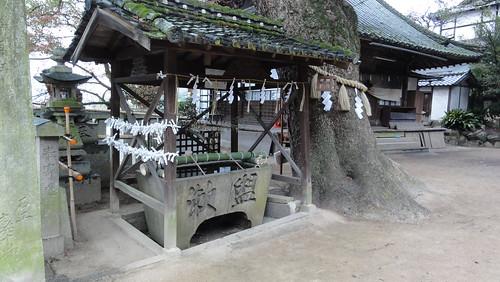 来福神社の手水