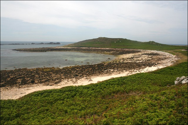 Porth Morran, White Island
