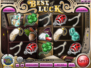 Best of Luck Slot Machine