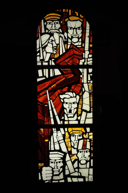 Revolution (stained glass Newcastle upon Tyne)