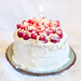 Raspberry Almond Birthday Cake
