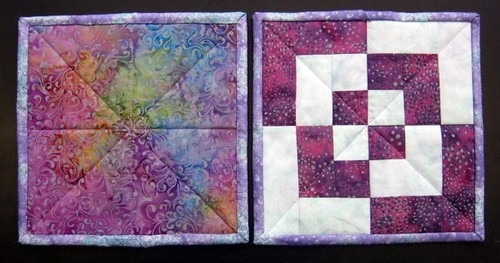 potholders front and back