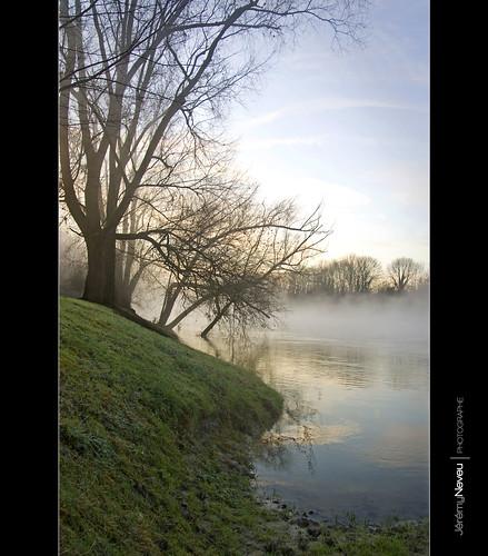 sunrise frog brouillard brume marne