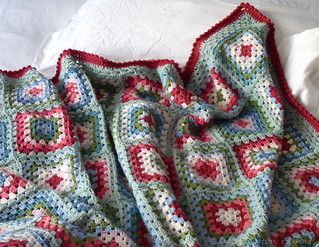 'Me Old China' blanket