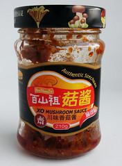 Mushroom sauce, authentic Szechuan