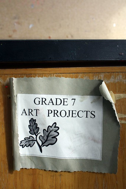 Grade 7 art projects