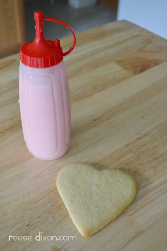 Sugar Cookie Valentines Tutorial Step 1