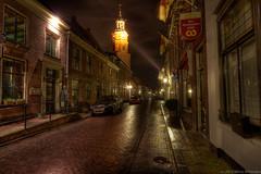Buren GLD, main street after the rain, tonemapped