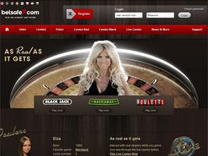 Betsafe Live Casino Home
