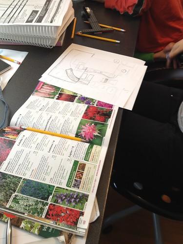 Garden planning by scatterville
