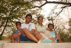 All of us in Chatuchak Park, Bangkok