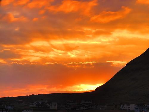winter sunset january hdr faroeislands g12 hdrsunset hvalba canong12