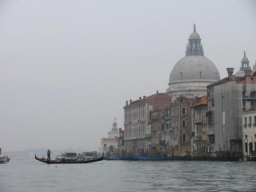 Canal Grande y Santa María della Salute
