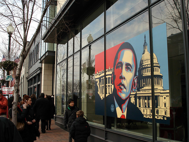 Gallery Front by Shepard Fairey