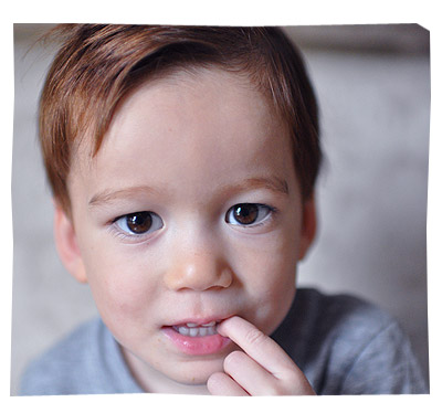 Liam - 2 years 10 Months