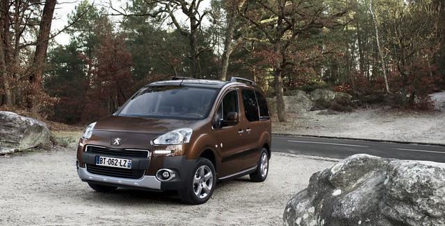 Peugeot Partner y Partner Tepee 2012