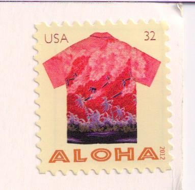 USA Aloha Stamp