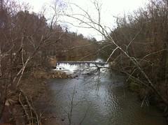 Dam Above Waller Creek