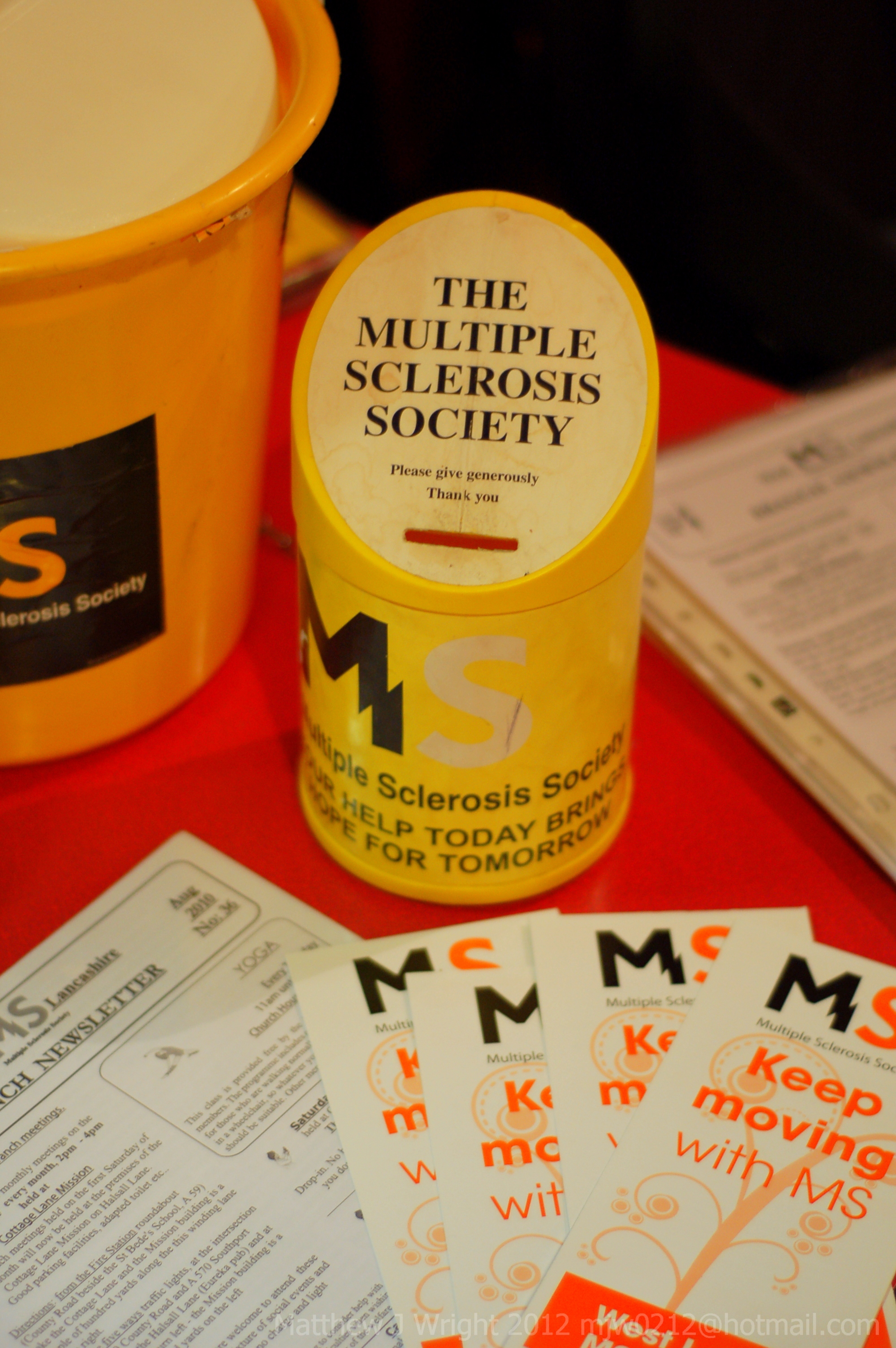 Christ Church Aughton Craft Fayre Multiple Sclerosis Fundraising