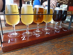 Beer tasting in Swan valley