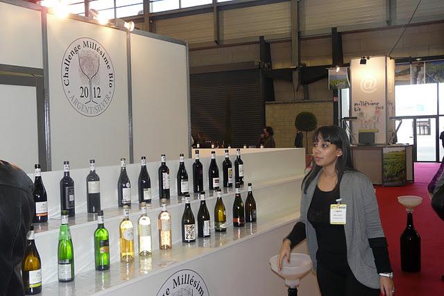 Noth que du salon international des vins bio mill sime for Salon du bio