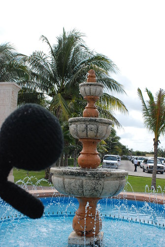 Cozumel fountain