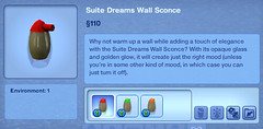 Suite Dreams Wall Sconce