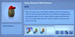 Suite Dreams Wall Sconce