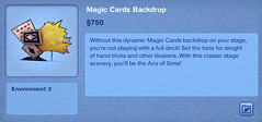 Magic Cards Backdrop