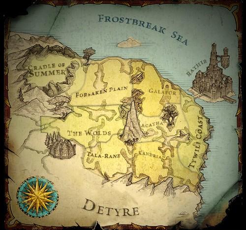 Kingdoms of Amalur Reckoning Plains of Erathell Lorestones Locations