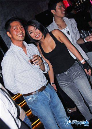 Flippish Managing Director Chris Tan with international model Michelle Ng