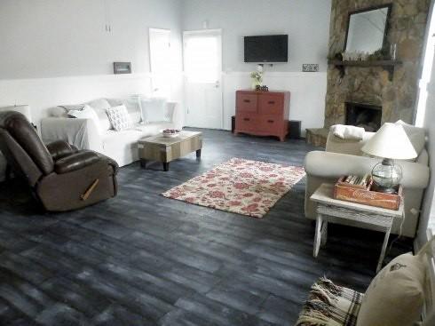 Sarah Fina Designs Diy Faux Hardwood Floors