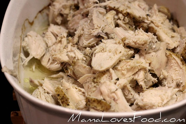 Tasty Baked Chicken for the Freezer